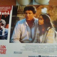 Cine: VINCULOS DE SET DE 12 FOTOCROMOS ORIGINALES ESTRENO-LOBBY CARDS-TOM BERENGER-. Lote 210655922