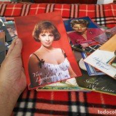Cine: CINE ACTOR O ACTRIZ FOTOGRAFIA GRAN FOTO CROMO COLOR - LEER - 20,3X13,5 CM YINA LOYOBRIGIDA. Lote 211415837