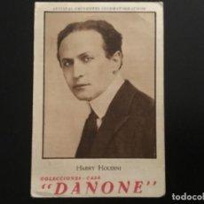 Cinema: HARRY HOUDINI FOTOCROMOS Nº 20 COLECCIÓN ARTISTAS EMINENTES CINEMATOGRAFICOS. Lote 211423671