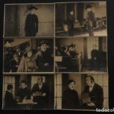 Cine: EL PEREGRINO DE CHARLES CHAPLIN CHARLOT COMPLETO 12 FOTOCROMOS. Lote 211429829