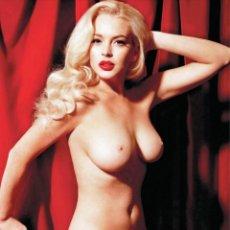Cine: FOTO LINDSAY LOHAN DESNUDA #2 - PLAYBOY JANUARY-FEBRUARY 2012 (1-2-2012) USA. Lote 211438347