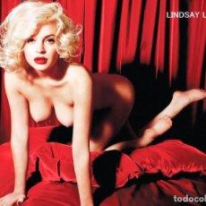 Cine: FOTO LINDSAY LOHAN DESNUDA #3 - PLAYBOY JANUARY-FEBRUARY 2012 (1-2-2012) USA. Lote 211438355