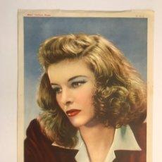 Cine: KATHERINE HELBURN, ACTRIZ ESTADOUNIDENSE (1907-2003) HOLLYWOOD, METRO GOLDWYN MAYER (H.1950?). Lote 211445396