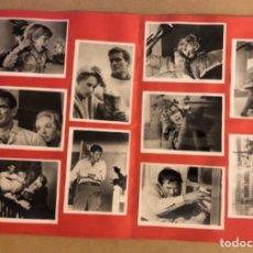 Cine: LOS PÁJAROS DE ALFRED HITCHCOCK. CARPETA CON 10 FOTOGRAFÍAS EN B/N DE LA PELÍCULA.. Lote 211522060