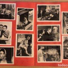 Cine: CHARADA CON CARY GRANT Y AUDREY HEPBURN). CARPETA CON 10 FOTOGRAFÍAS EN B/N DE LA PELÍCULA.. Lote 211522065