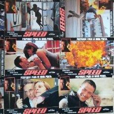Cinema: SPEED 11 FOTOCROMOS KEANU REEVES. DENNOS HOPPER. SANDRA BULLOCK. Lote 211624671
