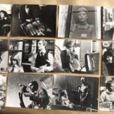 Cine: CÍRCULO DE LA MUERTE (MIA FARROW). LOTE DE 12 FOTOGRAFÍAS EN B/N DE LA PELÍCULA (1977).. Lote 211629536