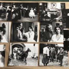 Cine: BEARN O LA SALA DE MUÑECAS (ANGELA MOLINA, IMANOL ARIAS, REY 1983). LOTE DE 11 FOTOGRAFÍAS EN B/N.. Lote 132910126