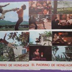 Cinema: LOTE 12 FOTOCROMOS EL PADRINO DE HONG-KONG IZARO FILMS. Lote 211781672