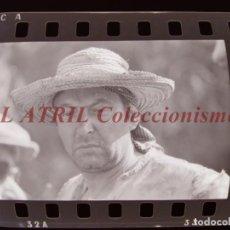 Cine: RODAJE DE LA SERIE LA BARRACA, 6 CLICHES NEGATIVOS 35 MM EN CELULOIDE AÑO 1979. Lote 212054483