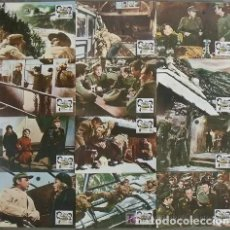 Cine: SCDO 079 EL DESAFIO DE LAS AGUILAS CLINT EASTWOOD SET COMPLETO 12 FOTOCROMOS ORIGINAL R-70'S. Lote 212431065