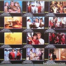 Cine: SCDO 097 STAR TREK 2 LA IRA DE KHAN SHATNER NIMOY SET COMPLETO 12 FOTOCROMOS ORIGINAL ESTRENO. Lote 236385840