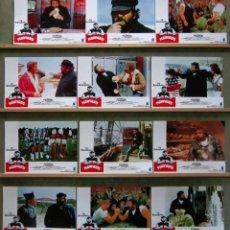 Cine: SCDO 154 LE LLAMABAN PEGAFUERTE BUD SPENCER SET COMPLETO 12 FOTOCROMOS ORIGINAL ESTRENO. Lote 212765976