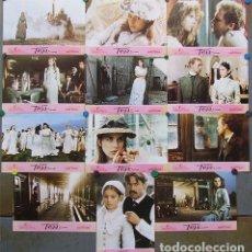 Cine: SCDO 167 TESS ROMAN POLANSKI NASTASSJA KINSKI SET COMPLETO 12 FOTOCROMOS ORIGINAL ESTRENO. Lote 236385785