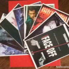 Cine: LOTE 8 POSTALES CINEMASCOPE COLLECTION. MATRIX, FACE OFF, PAYBACK, PSYCHO, SLEEPY HOLLOW, END OF DAY. Lote 213775172