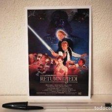 Cinéma: FICHA COLECCIONABLE -10*15- EL RETORNO DEL JEDI - STAR WARS. Lote 213923493