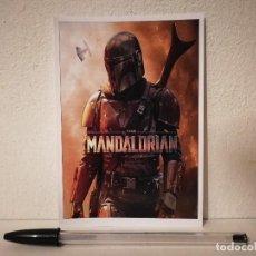 Cinéma: FICHA COLECCIONABLE -10*15- THE MANDALORIAN - STAR WARS - BOBA FETT. Lote 213923541