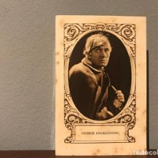 Cine: ACTOR GEORGE HACKDATONE CROMO CHOCOLATE E.JUNCOSA SERIE J NUMERO 9 AÑOS 20. Lote 213987735