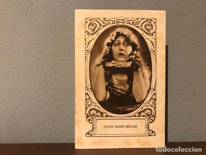 ACTRIZ PATSY RUTH MILLER CROMO CHOCOLATE E.JUNCOSA SERIE J NUMERO 10 AÑOS 20. (Cine - Fotos, Fotocromos y Postales de Películas)