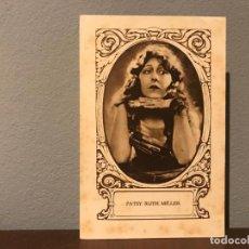 Cine: ACTRIZ PATSY RUTH MILLER CROMO CHOCOLATE E.JUNCOSA SERIE J NUMERO 10 AÑOS 20.. Lote 213988018