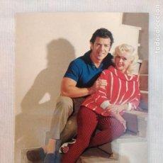 Cine: POSTAL AÑOS 70/JAYNE MANSFIELD-MIKEY HARGITAY/NUEVA!!!!!.. Lote 245763720