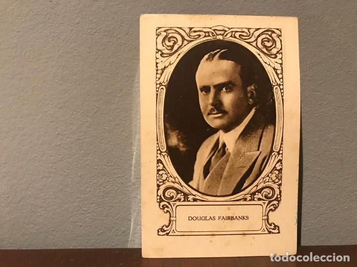 Cine: ACTOR DOUGLAS FAIRBANKS CROMO CHOCOLATE E.JUNCOSA SERIE J NUMERO 13 AÑOS 20 - Foto 1 - 214226131