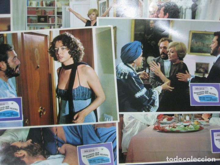 NOSOTROS QUE FUIMOS TAN FELICES. EMMA COHEN. VICENTE PARRA. 12 FOTOCROMOS. LOBY CARDS. (Cine - Fotos, Fotocromos y Postales de Películas)