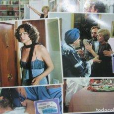 Cine: NOSOTROS QUE FUIMOS TAN FELICES. EMMA COHEN. VICENTE PARRA. 12 FOTOCROMOS. LOBY CARDS.. Lote 214328096