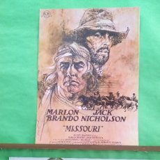 Cine: FOTOCROMO CINE - MISSOURI - MARLON BRANDON-JACK NICHOLSON - LOTE DE 2 -IDEAL PARA ENMARCAR - F4. Lote 214469420