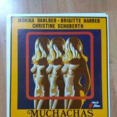 Cine: POS-4- 12 FOTOCROMOS DE LA PELICULA -.. MUCHACHAS EN EL GINECOLOGO. Lote 214739161