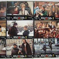 Cine: SOLO EN CASA 2, CON MACAULAY CULKIN. JUEGO COMPLETO DE 12 FOTOCROMOS. 1992.. Lote 277291028