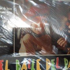 Cine: 12 FOTOCROMOS ORIGINALES - EL BAILE DEL PATO - JUEGO COMPLETO-RESINES. Lote 215209201