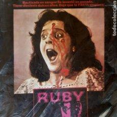 Cine: 12 FOTOCROMOS ORIGINALES - RUBY - JUEGO COMPLETO. Lote 215323625