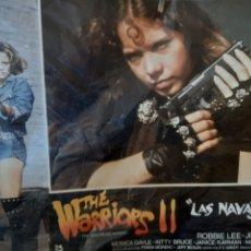 Cine: 9 FOTOCROMOS ORIGINALES - THE WARRIORS II LAS NAVAJERAS - JUEGO COMPLETO. Lote 215323896
