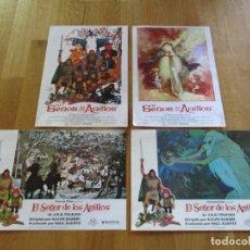 Cine: EL SEÑOR DE LOS ANILLOS, SET COMPLETO DE 12 FOTOCROMOS LOBBY CARDS, TOLKIEN. Lote 269165443