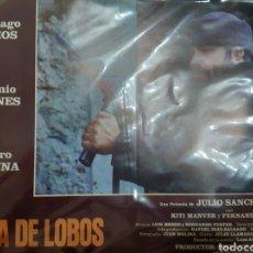 Cine: 12 FOTOCROMOS ORIGINALES - LUNA DE LOBOS - RESINES. Lote 215676753