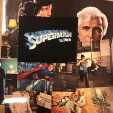 Cine: SUPERMAN THE MOVIE (1978). SET COMPLETO 9 FOTOCROMOS. DC COMICS INC.. Lote 216565773