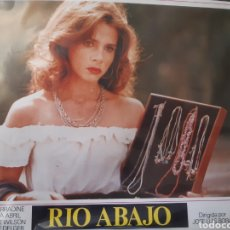 Cine: 12 FOTOCROMOS ORIGINALES - RIO ABAJO - VICTORIA ABRIL - JUEGO COMPLETO. Lote 216581496