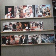 Cine: AAN01 CHAPLIN CHARLES CHAPLIN ROBERT DOWNEY JR ANTHONY HOPKINS SET 12 FOTOCROMOS ORIGINAL ALEMAN. Lote 216973038