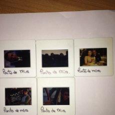 Cine: PUNTO DE MIRA - 5 DIAPOSITIVAS- ÁNGELA MOLINA. Lote 217504676