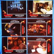 Cine: VIERNES 13, ULTIMO CAPITULO - 12 FOTOCROMOS. Lote 217830497