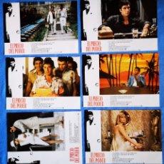 Cinéma: EL PRECIO DEL PODER - 12 FOTOCROMOS. Lote 217832975
