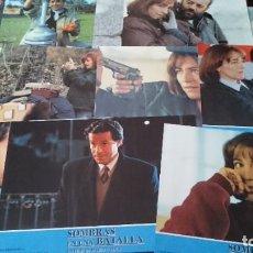 Cine: SOMBRAS EN UNA BATALLA -12 FOTOCROMOS COMPLETO AFICHES - MARIO CAMUS - CINE ESPAÑOL. Lote 218223157