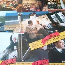 Cine: LA LOLA SE VA A LOS PUERTOS -12 FOTOCROMOS COMPLETO AFICHES -- JOSEFINA MOLINA - CINE ESPAÑOL. Lote 218225197