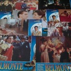 Cine: BELMONTE -12 FOTOCROMOS COMPLETO AFICHES -- JUAN BOLLAIN - CINE ESPAÑOL. Lote 218225651