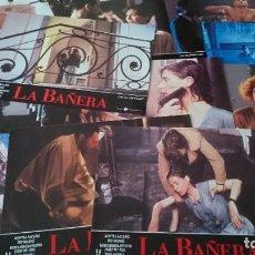 Cine: LA BAÑERA -12 FOTOCROMOS COMPLETO AFICHES -- JESÚS GARAY - CINE ESPAÑOL. Lote 218227298