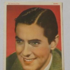 Cine: ANTIGUO FOTOCROMO TYRONE POWER 20 CENTURY FOX K-89-2 14 CM X 9 CM. Lote 218341131