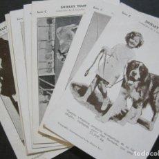 Cine: SHERLEY TEMPLE-SERIE C-COL·COMPLETA DE 8 POSTALES DE CINE-VER FOTOS-(74.165). Lote 218640532
