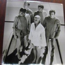 Cine: STAR TREK - FOTO ORIGINAL B/N - LEONARD NIMOY STEPHEN COLLINS PERSIS KHAMBATTA WILLIAM SHATNER. Lote 218689215