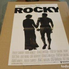 Cine: CARTEL O POSTER DOBLE, PELICULA ROCKY Y GOTHAM, 57 X 41 CM. Lote 218777191